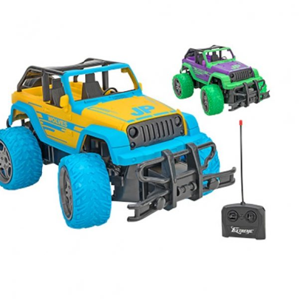 Jeep na daljinsko vodenje v merilu 118