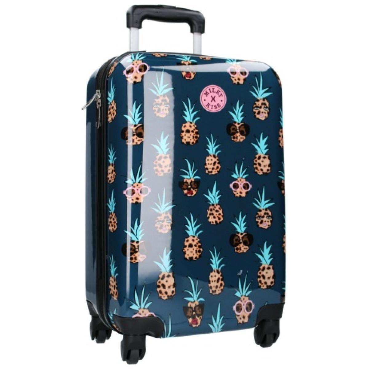 Kabinski kovček na štirih kolesih Milky Kiss Ananas