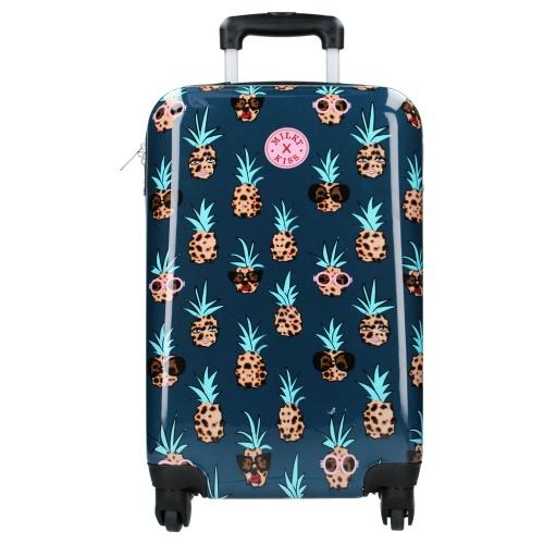 Kabinski kovček na štirih kolesih Milky Kiss Ananas1