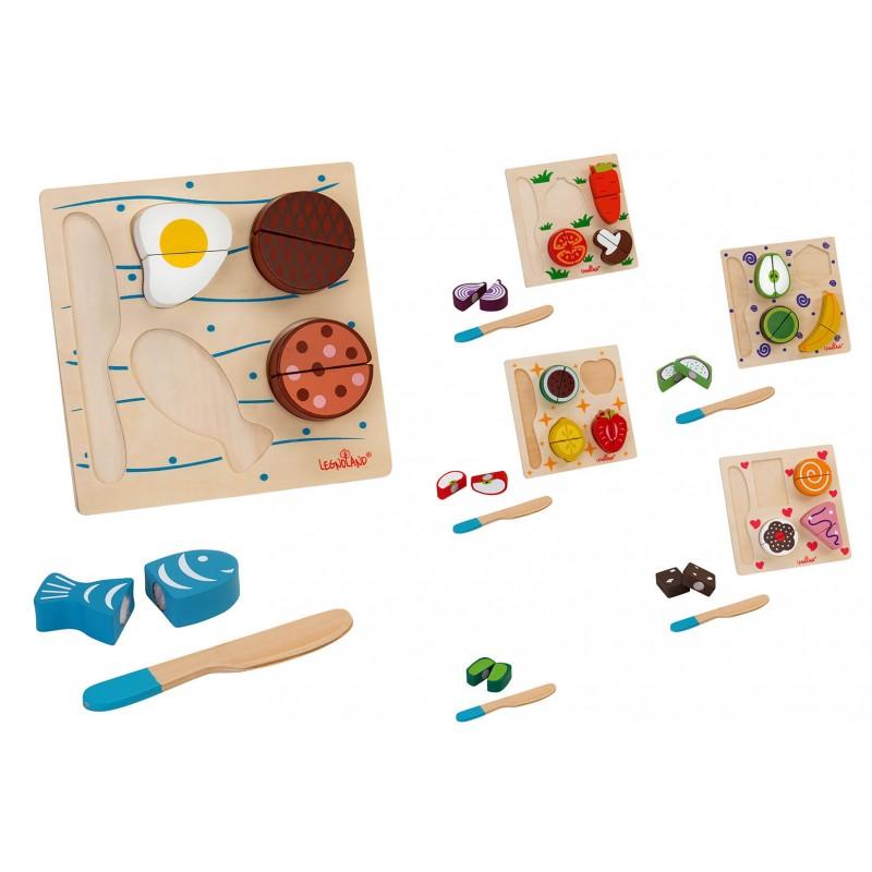 Leseni kuhinjski dodatki z jezkom