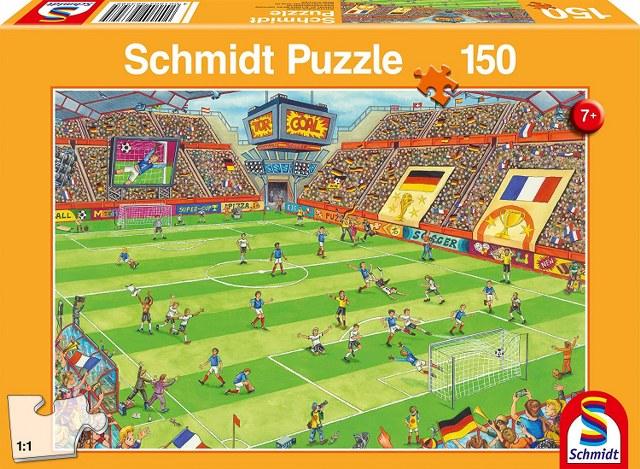 Otroška sestavljanka puzzle 150 delni Schmidt Nogomet