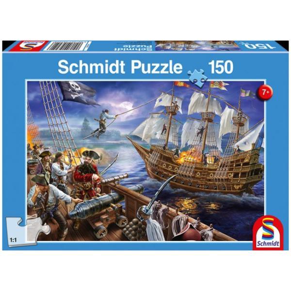 Otroška sestavljanka puzzle 150 delni Schmidt Pirati