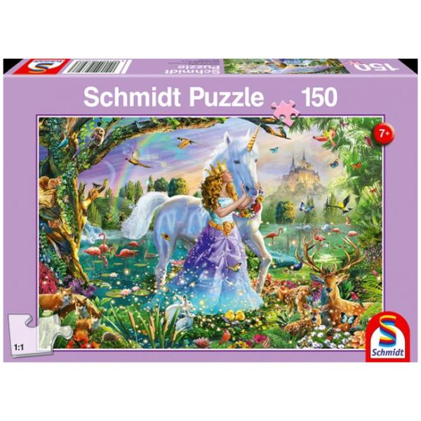 Otroška sestavljanka puzzle 150 delni Schmidt Princesa