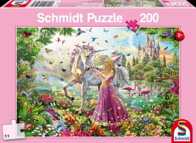 Otroška sestavljanka puzzle 200 delni Schmidt Pravljica
