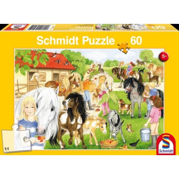 Otroška sestavljanka puzzle 60 delni Schmidt Zabava