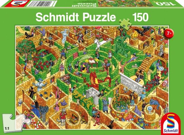Otroska sestavljanka puzzle 200 delni Schmidt Labirint