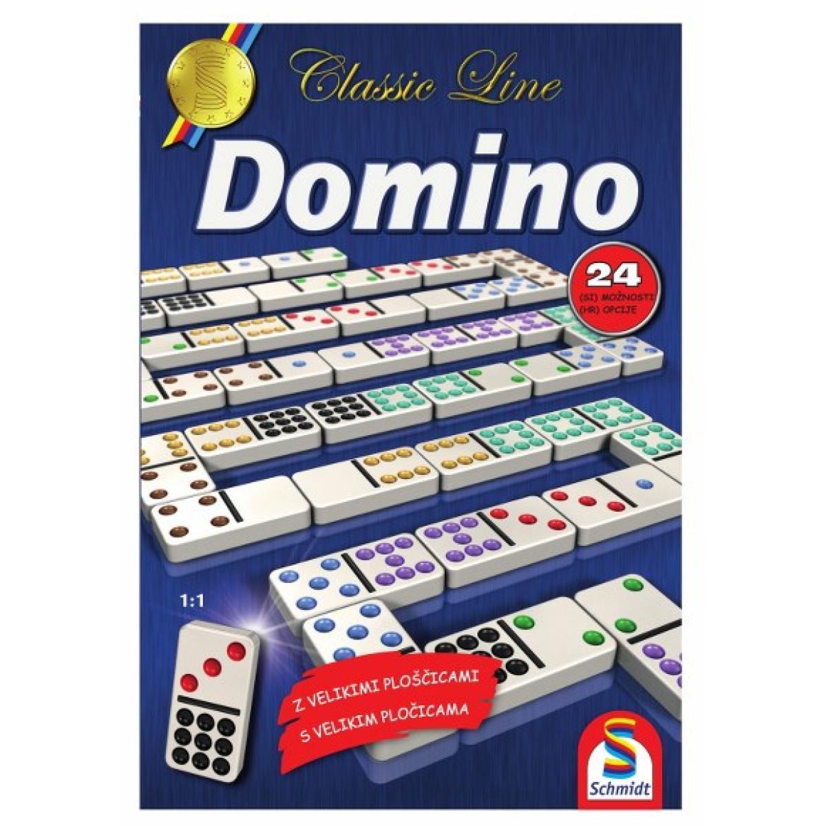 Schmidt Domino štiriindvajset različnih verzij igranja