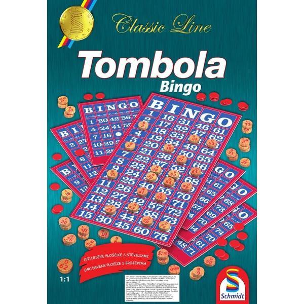 Schmidt Družabna igra Bingo Tombola 414x600