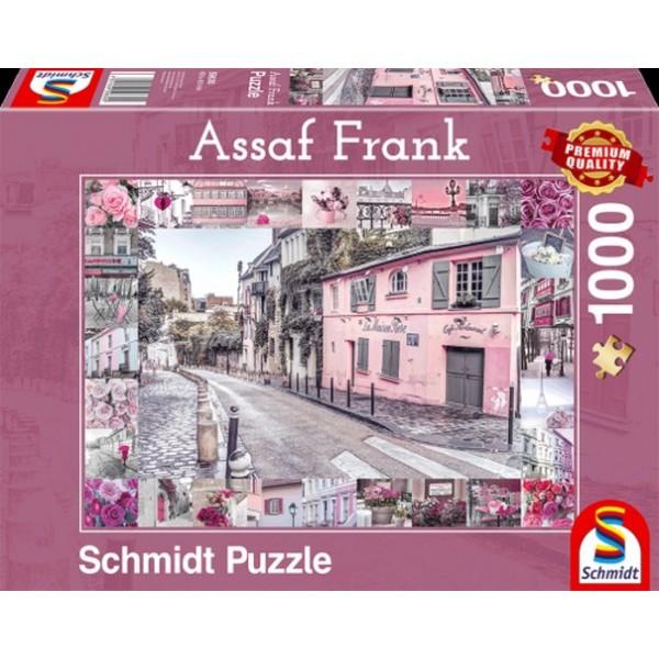 Sestavljanka 1000 delna Schmidt Assaf Romantično potovanje
