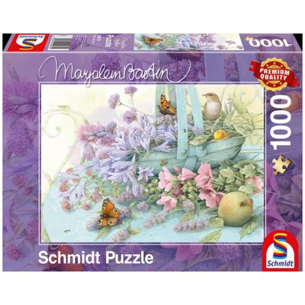 Sestavljanka 1000 delna Schmidt Bastin Košara cvetja