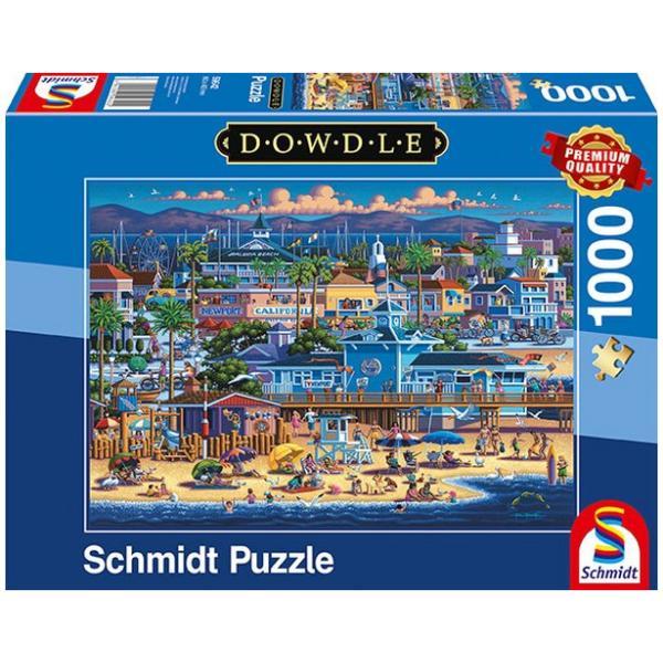 Sestavljanka 1000 delna Schmidt Dowdle Newport