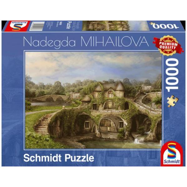 Sestavljanka 1000 delna Schmidt Mihailova Hiša narave