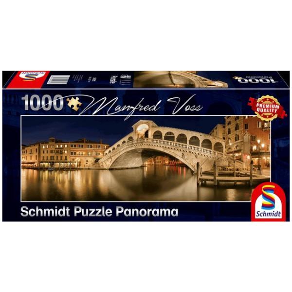 Sestavljanka 1000 delna Voss Benetke Most Rialto