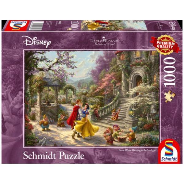 Sestavljanka Schmidt Kinkade Disney Sneguljčica in princ