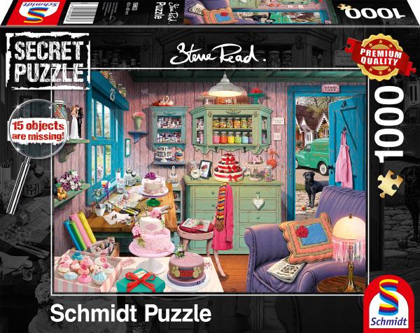 Sestavljanka puzzle 1000 delna Babičina soba