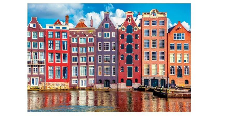 Sestavljanka puzzle 1000 delna Globo Amsterdam 1