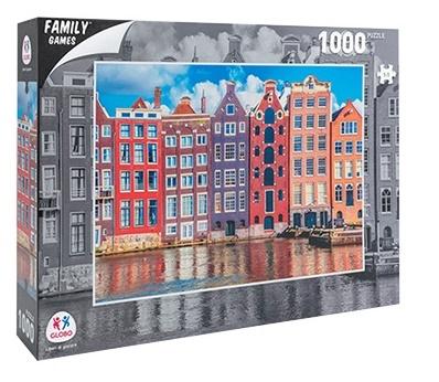 Sestavljanka puzzle 1000 delna Globo Amsterdam