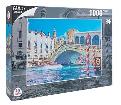 Sestavljanka puzzle 1000 delna Globo Benetke