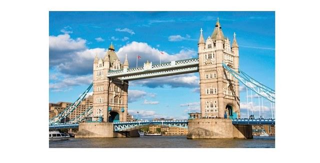 Sestavljanka puzzle 1000 delna Globo London 1