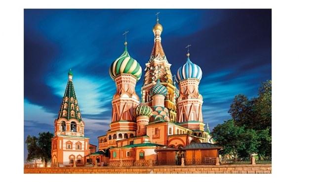 Sestavljanka puzzle 1000 delna Globo Moskva 1