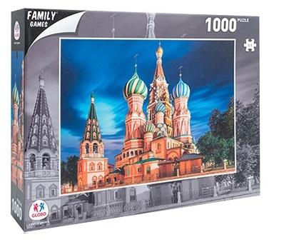 Sestavljanka puzzle 1000 delna Globo Moskva