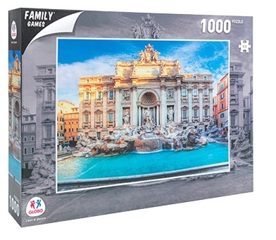 Sestavljanka puzzle 1000 delna Globo Rim