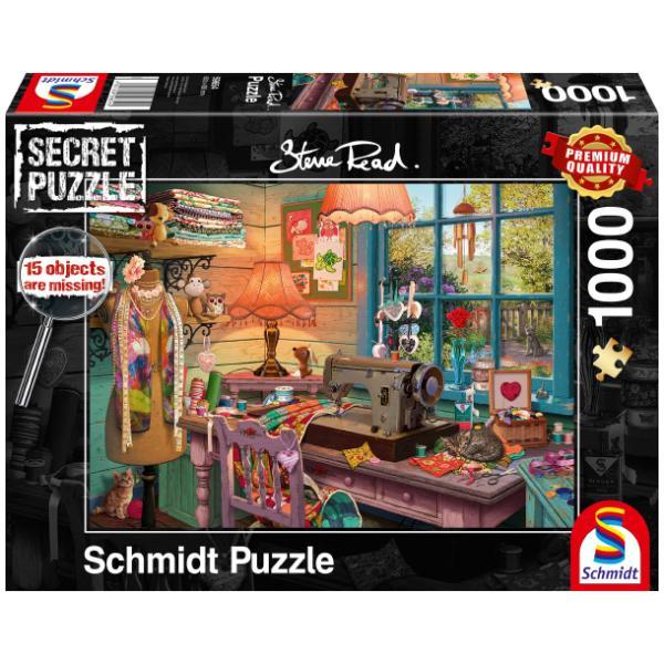 Sestavljanka puzzle 1000 delna Schmidt Šivalna soba