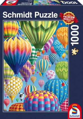 Sestavljanka puzzle 1000 delna Schmidt Baloni