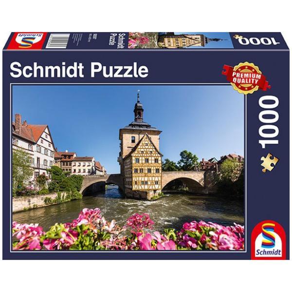 Sestavljanka puzzle 1000 delna Schmidt Bamberg Bavarska