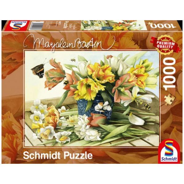 Sestavljanka puzzle 1000 delna Schmidt Bastin Pomlad