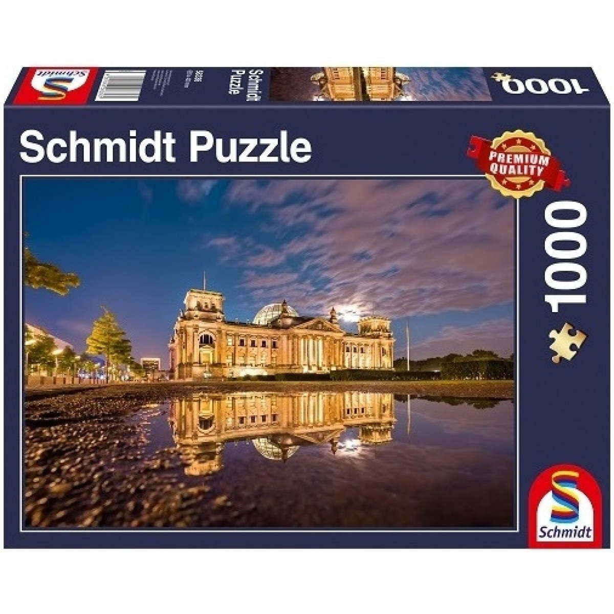 Sestavljanka puzzle 1000 delna Schmidt Berlin Reichstag parlament