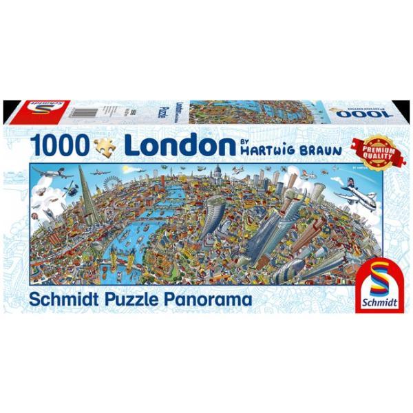 Sestavljanka puzzle 1000 delna Schmidt Braun London