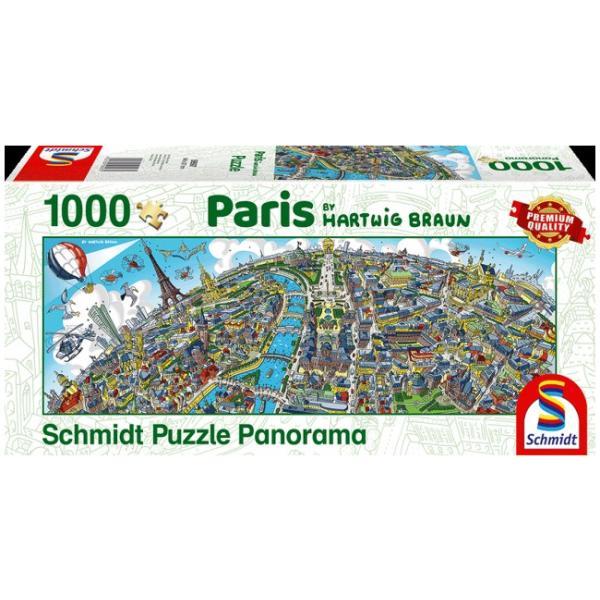 Sestavljanka puzzle 1000 delna Schmidt Braun Paris