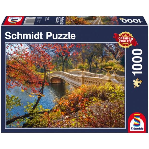 Sestavljanka puzzle 1000 delna Schmidt Central Park NY
