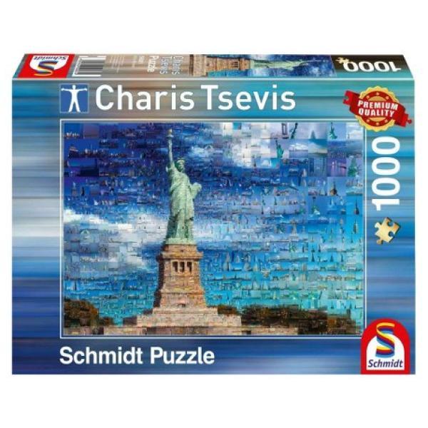 Sestavljanka puzzle 1000 delna Schmidt Charis New York