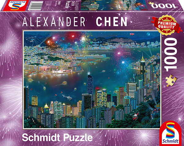 Sestavljanka puzzle 1000 delna Schmidt Chen Hong Kong