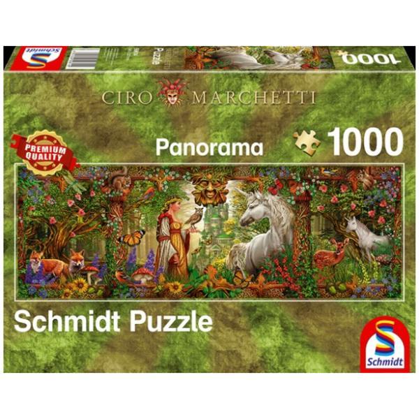 Sestavljanka puzzle 1000 delna Schmidt Ciro Gozd