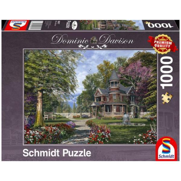 Sestavljanka puzzle 1000 delna Schmidt Davison Graščina