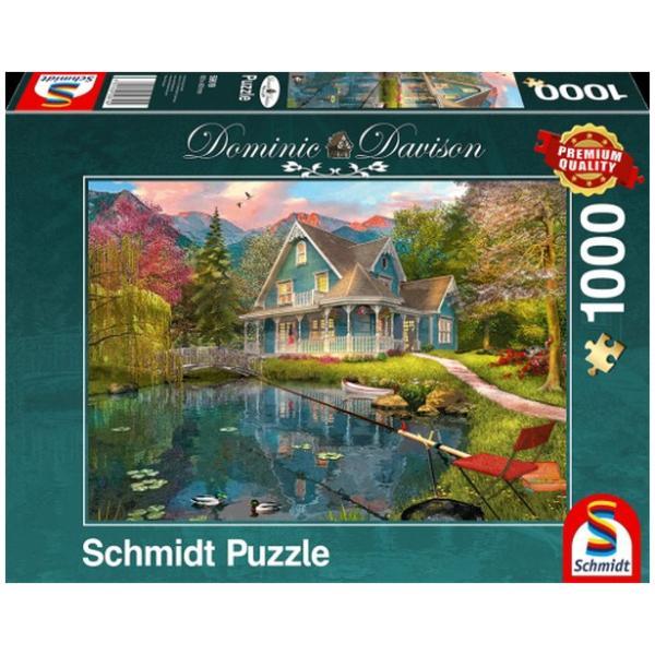 Sestavljanka puzzle 1000 delna Schmidt Davison Počitek