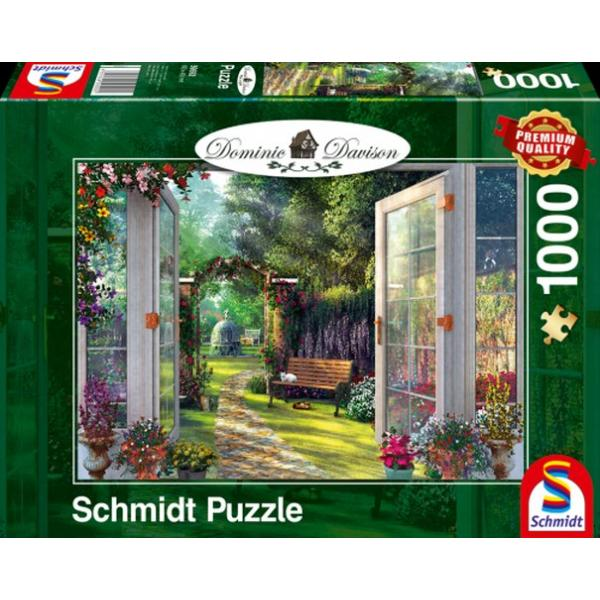 Sestavljanka puzzle 1000 delna Schmidt Davison Vrt
