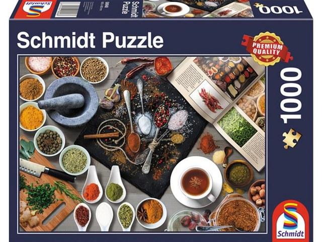 Sestavljanka puzzle 1000 delna Schmidt Dišavnice