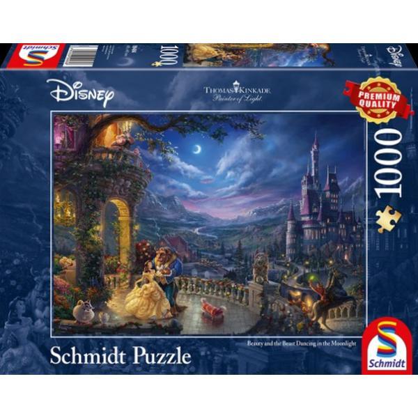 Sestavljanka puzzle 1000 delna Schmidt Disney Lepotica in Zver