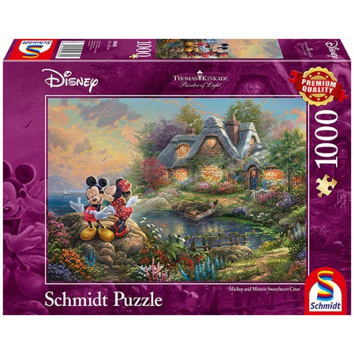 Sestavljanka puzzle 1000 delna Schmidt Disney MickeyMini