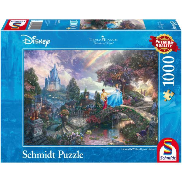 Sestavljanka puzzle 1000 delna Schmidt Disney Pepelka