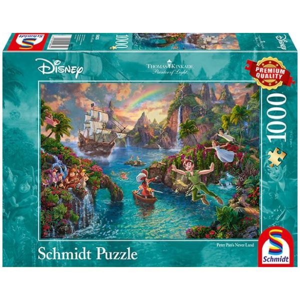 Sestavljanka puzzle 1000 delna Schmidt Disney Peter Pan