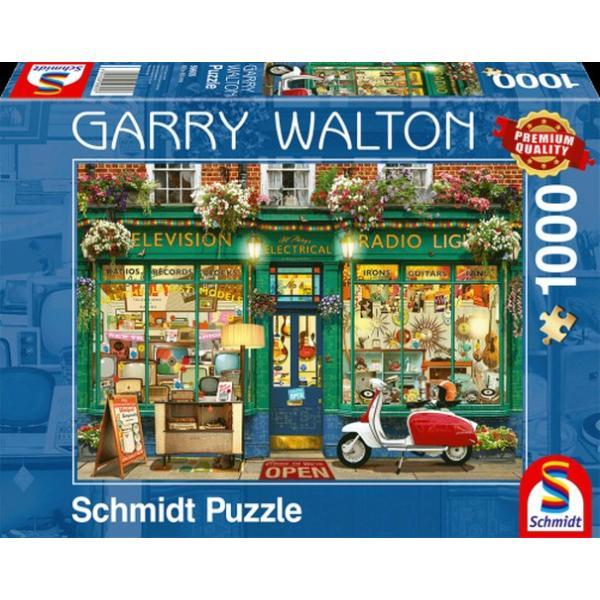 Sestavljanka puzzle 1000 delna Schmidt Elektro trgovina