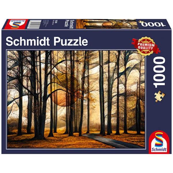 Sestavljanka puzzle 1000 delna Schmidt Gozd