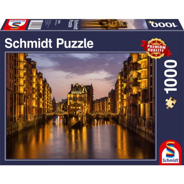 Sestavljanka puzzle 1000 delna Schmidt Hamburg