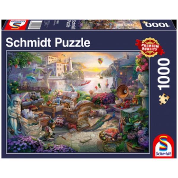 Sestavljanka puzzle 1000 delna Schmidt Italijanska terasa