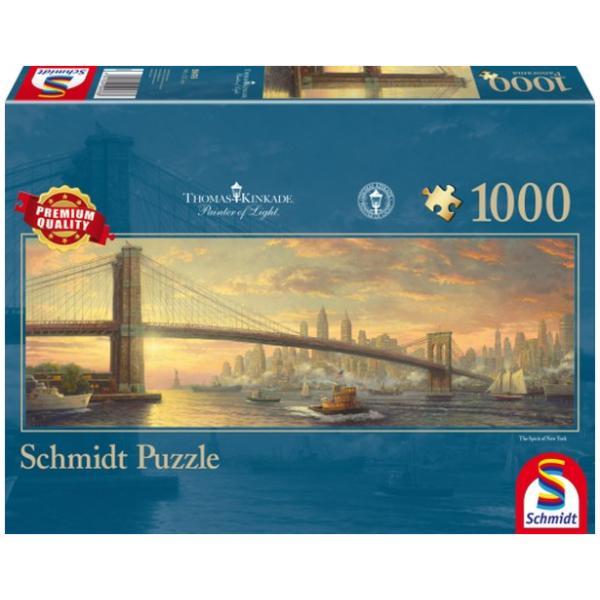 Sestavljanka puzzle 1000 delna Schmidt Kinkade Brooklyn Most